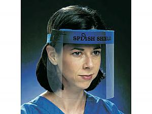 Splash Shield Face Protection System, Full