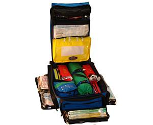 ALS Ultra Pack - Black w/ Clear IV Bags