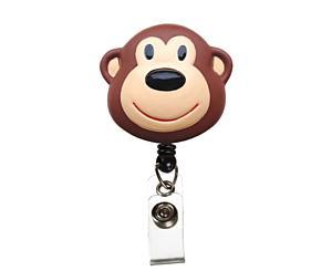 Deluxe Retracteze ID Holder, Monkey, Print