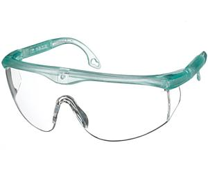 Colored Full-Frame Adjustable Eyewear, Frosted Seabreeze