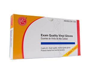 Exam Quality Vinyl Gloves, 2 pair/box