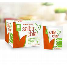 Salba Chia Premium Ground - 10 single serve (15g/0.5oz) boosts per box