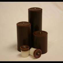 9 inch Chocolate Pillar