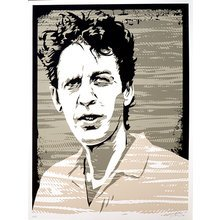 "Josh Budich ""Mark Sandman"" Signed Screen Print"
