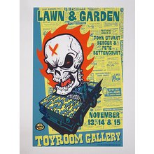 "Toyroom ""Lawn And Garden"" Show Poster"